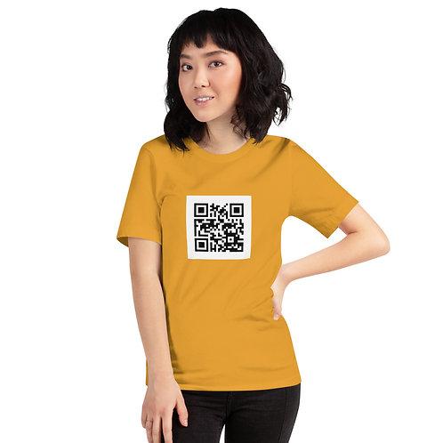 QR Code - Short-Sleeve Unisex T-Shirt
