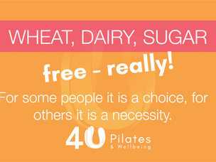 Wheat, Dairy, Sugar free - really!