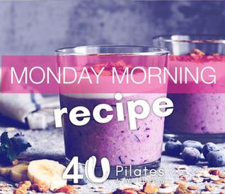 High Protein Berry & Almond Smoothie Recipe