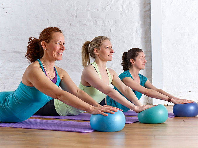 4U Pilates & Wellbeing members enjoying a Group Pilates Class
