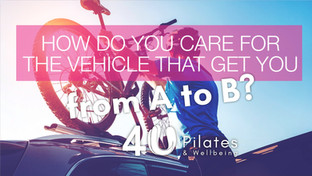 How do you care for the vehicle that gets you from A to B?