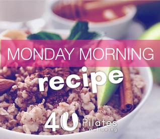 Cinnamon, Almond & Apple Oat Breakfast Bowl Recipe