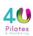 4U Pilates & Wellbeing logo - a holistic approach to your health and fitness