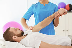 Zoisa Holder providing a Touch 4 Health kinesiology treatment to a 4U Pilates & Wellbeing member