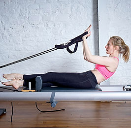 4U Pilates Reformer Class Monday 1.30pm