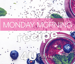 Chia, Blueberry and Avocado Smoothie