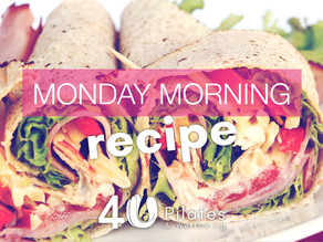Ham, Cheese, Kale and Red Pepper Wrap