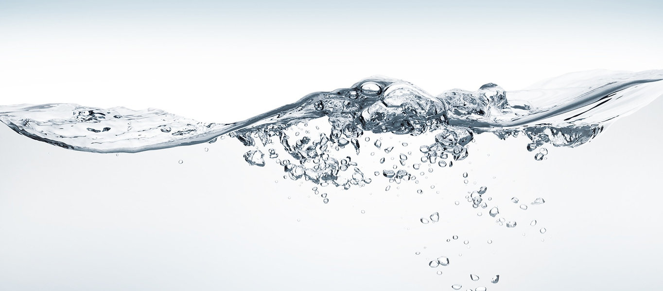 Water splash image to demonstrate the hydrating effect of the MELT Method