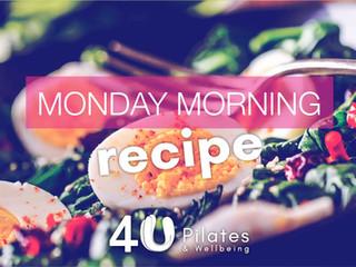 Egg, Pepper & Spinach Breakfast Recipe
