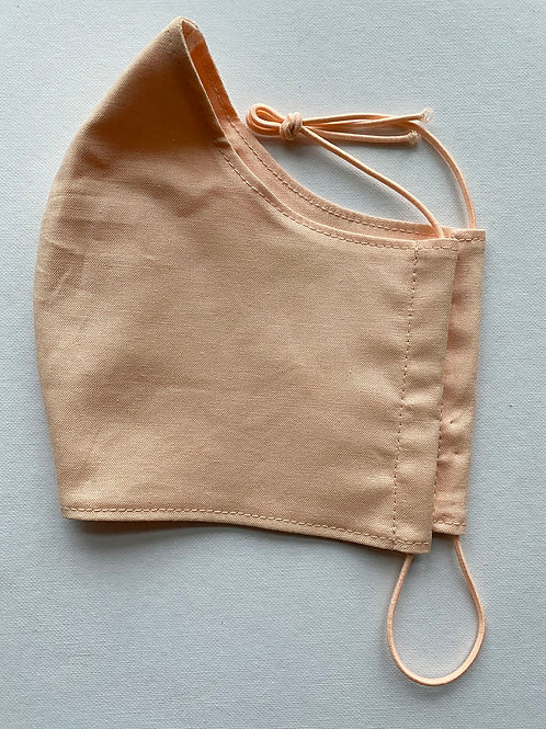 Peach Fabric Mask