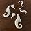 Thumbnail: Large Seahorse Earring
