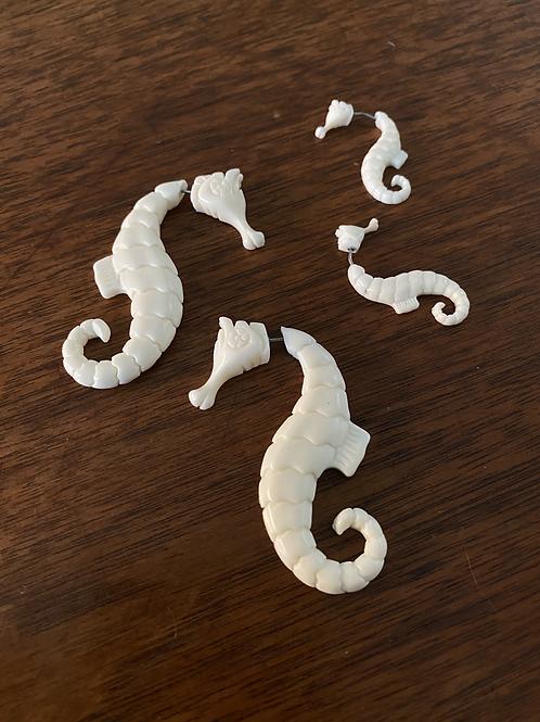 Baby Seahorse Earrings