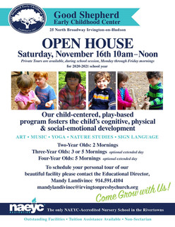 Open House this Saturday, November 16th