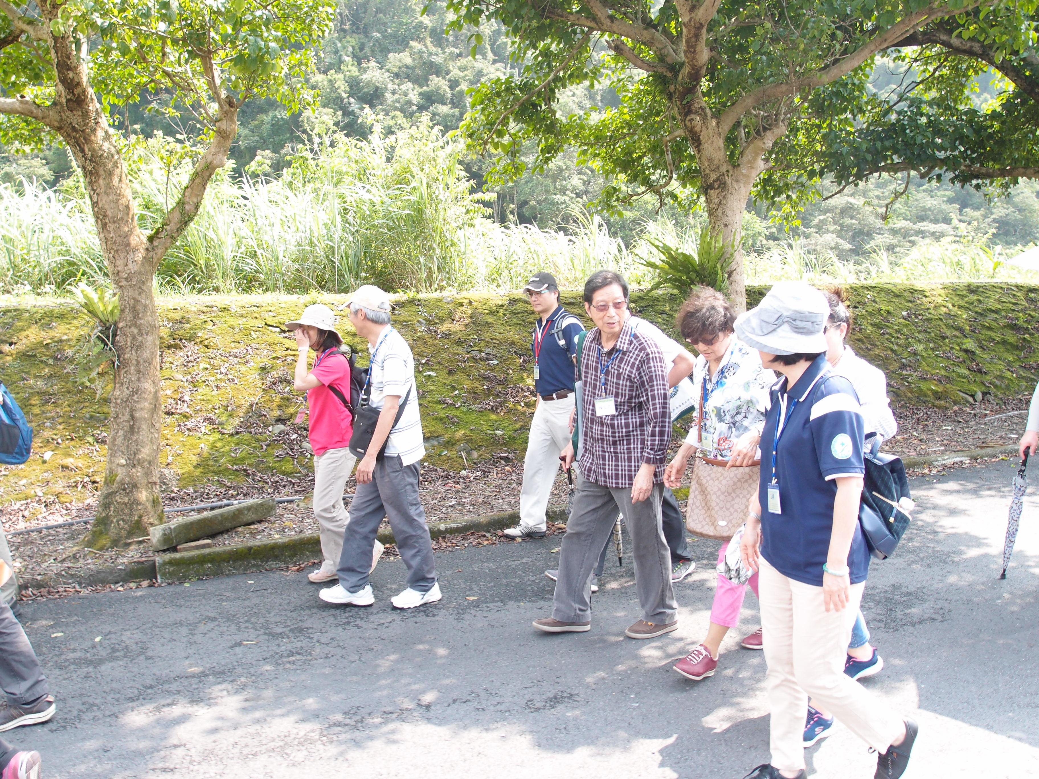 開始漫步九寮溪自然園區