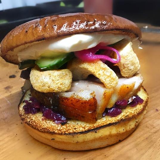BB præsenterer sin nyeste burger: flæske