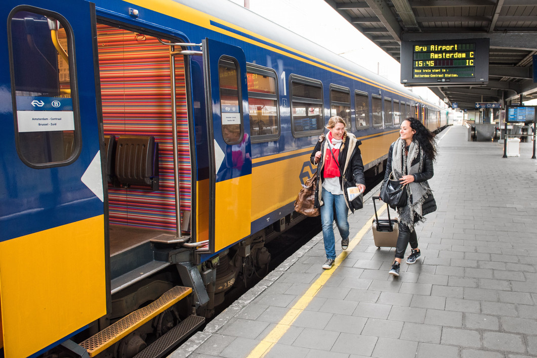 Interior design high speed train Brussels