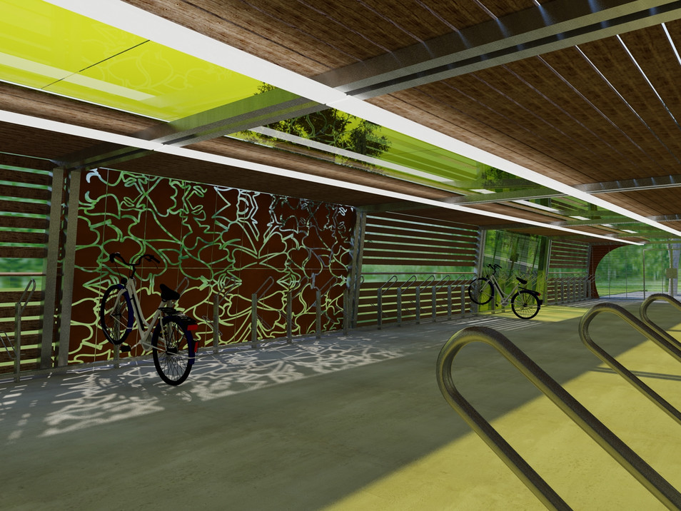 Bike parking design