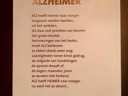Aandacht voor de week van Alzheimer