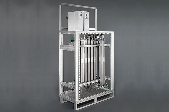Réacteur en ligne, EDS MIX technologie de réacteurs en ligne. Nos réacteurs en ligne sont basés sur la conception modulaire du système Contiplant est basée sur le mélangeur continu / échangeurs de chaleur de Fluitec