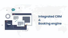 The benefits for a travel agency in having an integrated CRM and booking engine