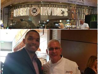 JLLP designs lighting for celebrity Chef Robert Irvine's new Las Vegas restaurant.