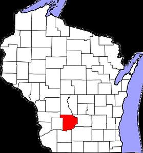 300px-Map_of_Wisconsin_highlighting_Sauk