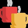 Icona cafè amb el mossèn Oriol