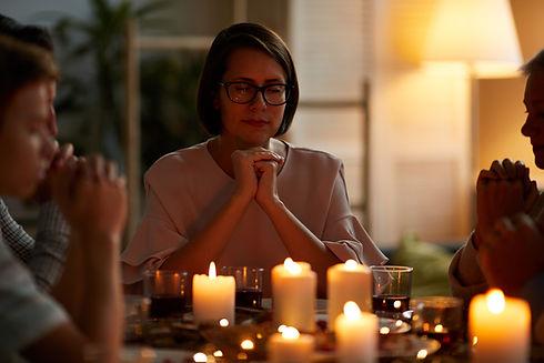 Pregaroa per beneir la taula