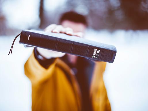 ESTOS 7 PUNTOS VAN BIEN PARA LEER LA BIBLIA