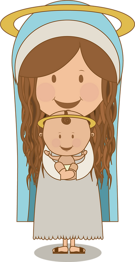 Virgen niño transparente.png