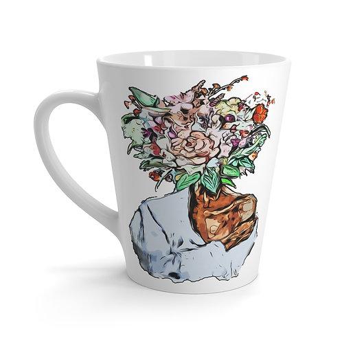 Latte Mug (Flower Child)