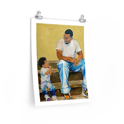 LIMITED EDITION Print (Honoring Fathers) Starting at $15