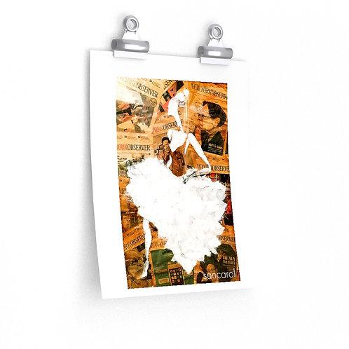 Sancarol Art Print - Ballerina
