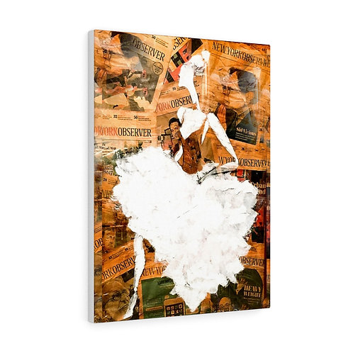 Canvas (Ballerina - Golden)