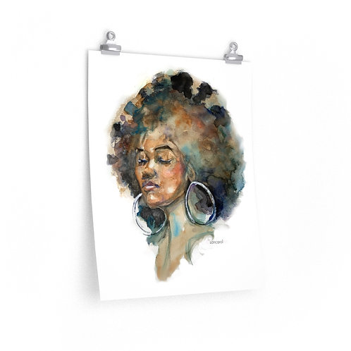 Print (Brown Beauty)