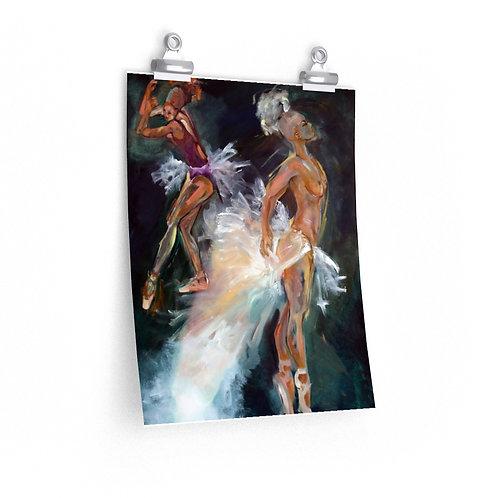 Sancarol Art Print - Ballerina Dancers