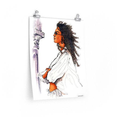 Print (Lady)