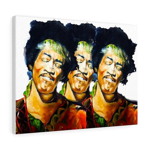 Sancarol Canvas Gallery Wraps - Jimi Hendrix X 3
