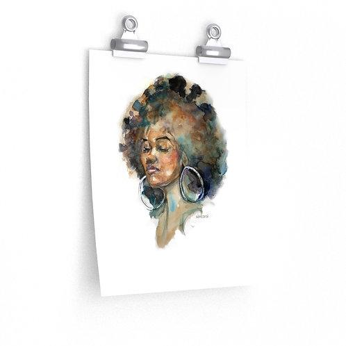 Sancarol  Art Print - Brown Beauty