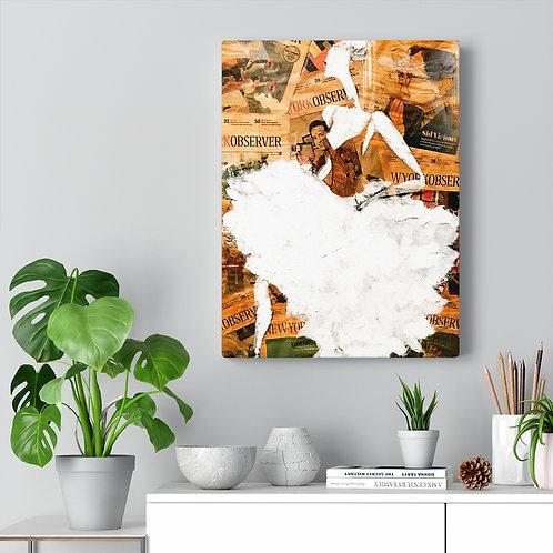 Canvas (Ballerina - Golden) Starting at $16