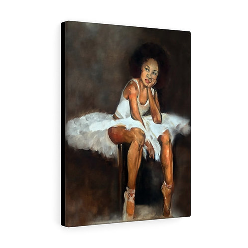 Sancarol Canvas Gallery Wraps - Ballerina Girl