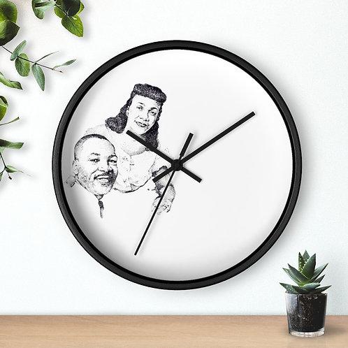 Wall clock (MLK)