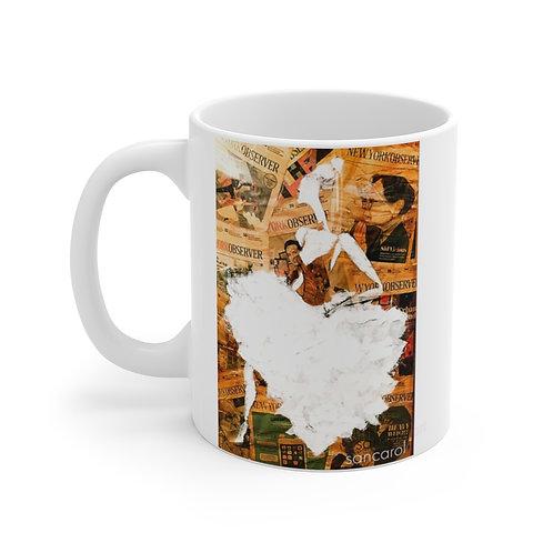 Mug (Golden Ballerina)