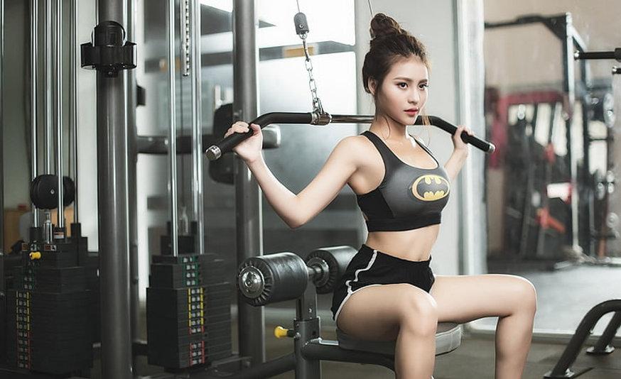 sports-fitness-asian-brunette-wallpaper-