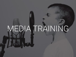 We can help you become the best storyteller for your brand. Every interview is unique.  Whether it's a live TV interview, a recorded video conference, a press event, or a deskside meet-and-greet we will prepare you to be the expert in front of the cameras.