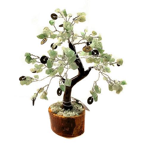 Árbol Aventurina Monedas chinas