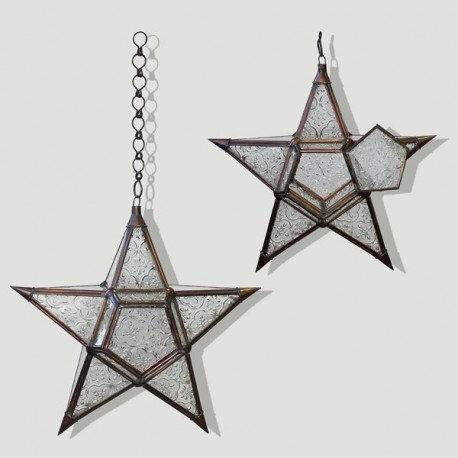 Lámpara Estrella 28 cm