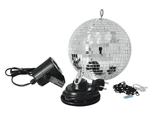 Set Bola Espejos LED 20 cm