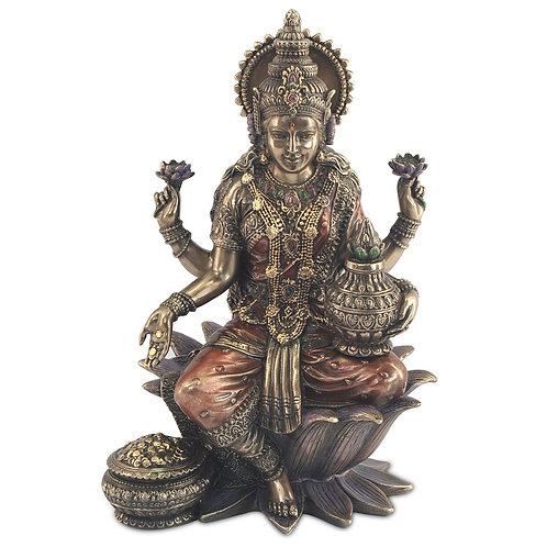 Figura de Lakshmi, Diosa de la riqueza y la prosperidad.