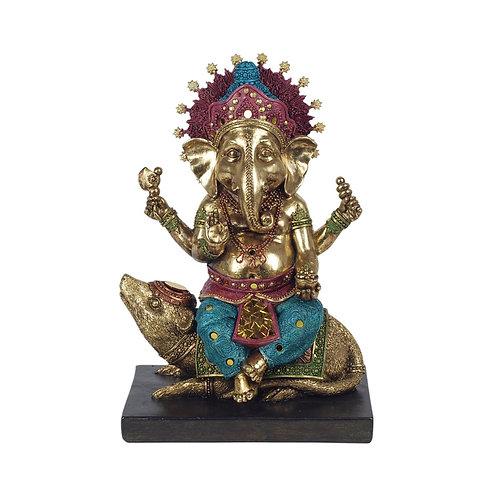 Figura de Ganesha, Dios de la inteligencia.
